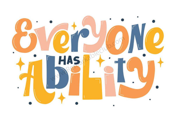 Disability Awareness Sticker Pack